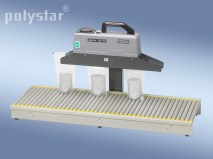 polystar 350 DSM with conveyor rollers